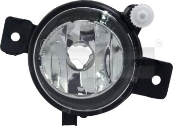 19-12107-01-9 TYC Fog Lamp Unit