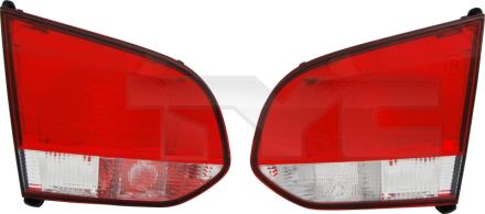 17-0237-01-2 TYC Inner Tail Lamp Unit