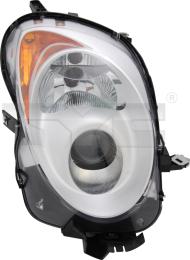 20-11753-05-2 TYC Head Lamp