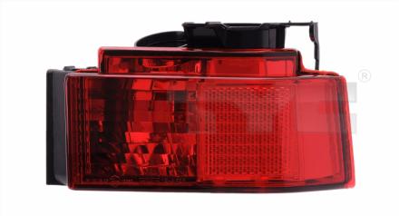 19-0595-01-2 TYC Rear Fog Lamp Unit