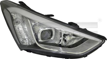 20-14921-16-2 TYC Head Lamp