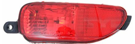 19-0147-01-2 TYC Rear Fog Lamp Unit