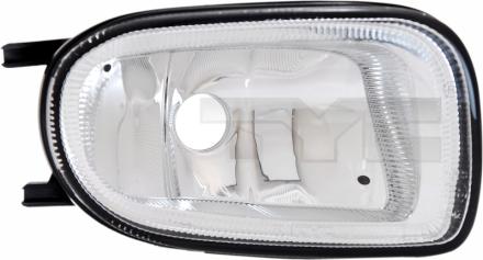19-0455001 TYC Fog Lamp Unit