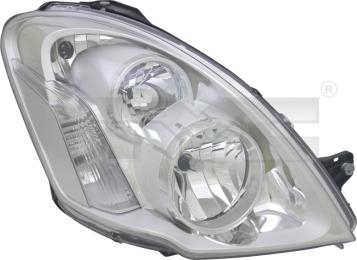 20-14603-05-2 TYC Head Lamp