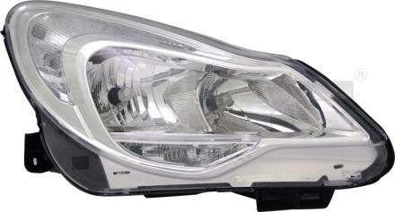 20-12629-00-21 TYC Head Lamp