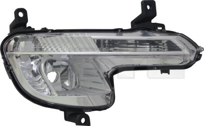 19-12099-01-2 TYC Fog Lamp Unit