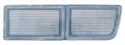 12-1601-01-6 TYC Bumper Plate