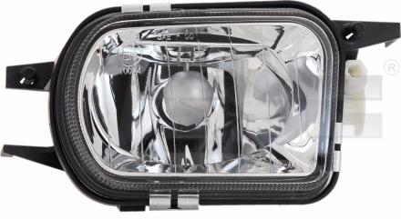 19-0553-01-9 TYC Fog Lamp Unit