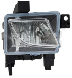 19-0725-05-2 TYC Fog Lamp
