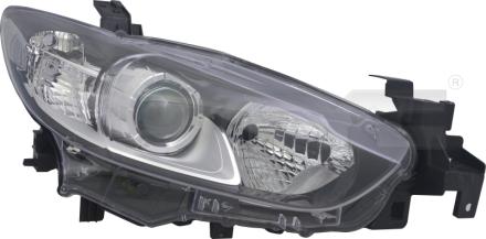 20-14607-06-2 TYC Head Lamp