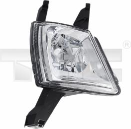 19-0235-05-2 TYC Fog Lamp Unit