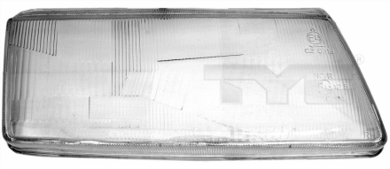 20-3449-LA-1 TYC Head Lamp Lens