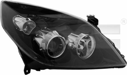 20-1109-05-2 TYC Head Lamp