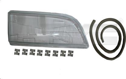 20-3729-LA-1 TYC Head Lamp Lens