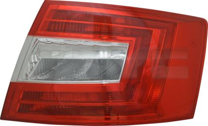 11-12671-01-2 TYC Tail Lamp Unit