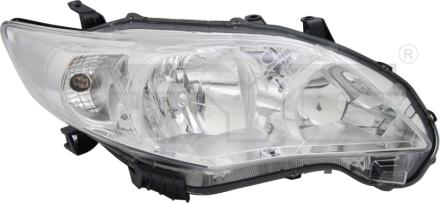 20-12529-05-2 TYC Head Lamp