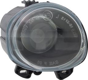 19-5715-05-9 TYC Fog Lamp