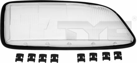 20-5483-LA-1 TYC Head Lamp Lens