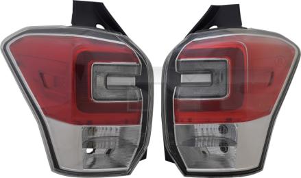 11-6953-16-9 TYC Tail Lamp