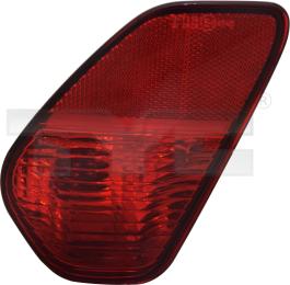 17-5756-15-2 TYC Rear Fog Lamp