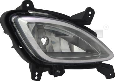 19-12027-00-21 TYC Fog Lamp Unit