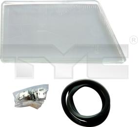 20-5341-LA-1 TYC Head Lamp Lens