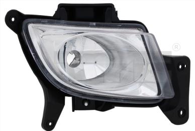 19-0783-01-2 TYC Fog Lamp Unit