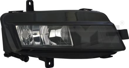 19-12235-00-21 TYC Fog Lamp Unit