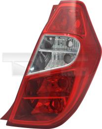 11-12491-01-2 TYC Tail Lamp Unit