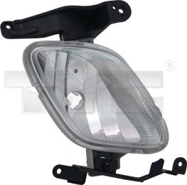 19-11029-01-2 TYC Fog Lamp Unit