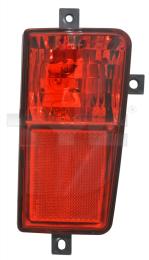 19-12693-01-2 TYC Rear Fog Lamp Dummy
