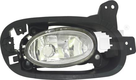 19-14345-01-9 TYC Fog Lamp Unit