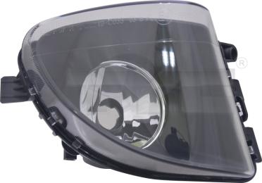 19-12033-01-9 TYC Fog Lamp Unit