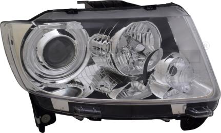 20-16655-05-9 TYC Head Lamp