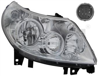 20-11333-05-2 TYC Head Lamp